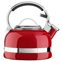 Чайник KitchenAid 1.89л, наплитный, свисток, красный (KTEN20SBER)