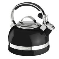 Чайник KitchenAid 1.89л, наплитный, свисток, черный (KTEN20SBOB)
