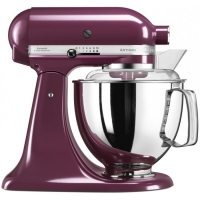 Миксер KitchenAid планетарный ,4.83л, 4 насадки, 2 чаши, фиолетовый (5KSM175PSEBY)