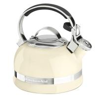 Чайник KitchenAid 1.89л, наплитный, свисток, кремовый (KTEN20SBAC)