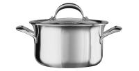 Кастрюля KitchenAid для соуса, 2.84л с крышкой, нерж.сталь (KC2C30EHST)