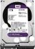 Жесткий диск Western Digital HDD SATA-III 1000Gb Purple (WD10PURZ)