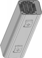 Облучатель закрытого типа (рециркулятор) ультрафиолетовый (РУФ-1.1.16)