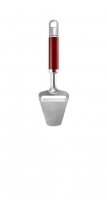 Нож KITCHENAID для нарезки сыра, нержавеющая сталь, красная ручка (KGEM3110ER)