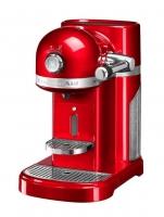 Кофемашина KitchenAid капсульная Artisan Nespresso и Aeroccino, объём бака 1.4л, красная (5KES0504EER)