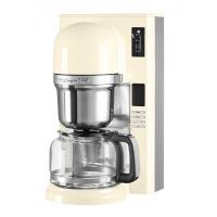 Кофеварка KitchenAid заливного типа, графин 1.18л, кремовая (5KCM0802EAC)