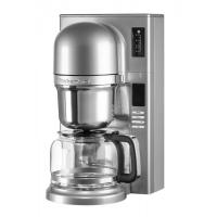Кофеварка KitchenAid заливного типа, графин 1.18л, серебристая (5KCM0802ECU)