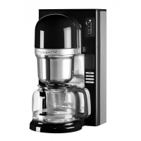 Кофеварка KitchenAid заливного типа, графин 1.18л, черная (5KCM0802EOB)