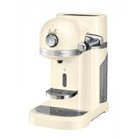 Кофемашина KITCHENAID  капсульная Artisan Nespresso, объём бака 1.4л, кремовая (5KES0503EAC)