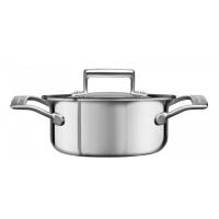 Кастрюля KitchenAid для соуса, 1.42л с крышкой, нерж.сталь (KC2C15EHST)