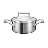 Кастрюля KitchenAid для соуса, 1.42л с крышкой, нерж.сталь (KC2T15EHST)
