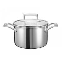 Кастрюля KitchenAid для соуса, 2.84л с крышкой , нерж.сталь (KC2T30EHST)