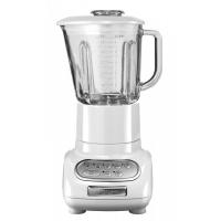 Блендер KitchenAid Artisan, стакан 1.5л. (стекло), 5 скоростей, Pulse, белый (5KSB5553EWH)