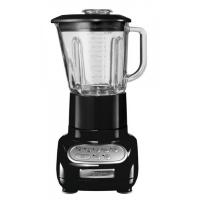 Блендер KitchenAid Artisan, стакан 1.5л. (стекло), 5 скоростей, Pulse, черный (5KSB5553EOB)