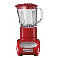 Блендер KitchenAid Artisan, стакан 1.5л. (стекло), 5 скоростей, Pulse, красный (5KSB5553EER)