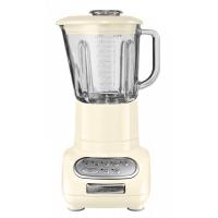 Блендер KitchenAid Artisan, стакан 1.5л. (стекло), 5 скоростей, Pulse, кремовый (5KSB5553EAC)