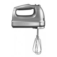 Миксер ручной KitchenAid , 230-1300об/мин, 9 скоростей, серебристый (5KHM9212ECU)