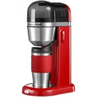 Кофеварка KitchenAid персональная заливного типа, объём бака 1л, термос 0.54л, красная (5KCM0402EER)