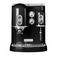 Кофемашина KitchenAid Artisan Espresso, 2 бойлера, черная (5KES2102EOB)