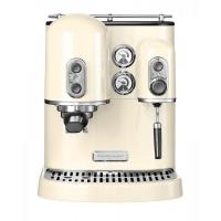 Кофемашина KitchenAid Artisan Espresso, 2 бойлера, кремовая (5KES2102EAC)