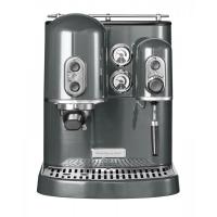 Кофемашина KitchenAid Artisan Espresso, 2 бойлера, серебр. Медальон (5KES2102EMS)