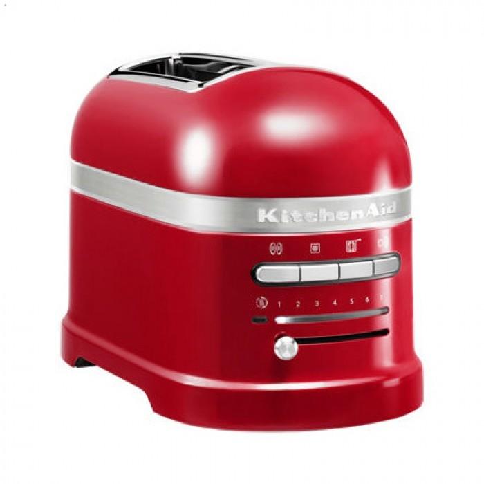 Тостер KitchenAid ARTISAN на 2 хлебца, красный (5KMT2204EER)