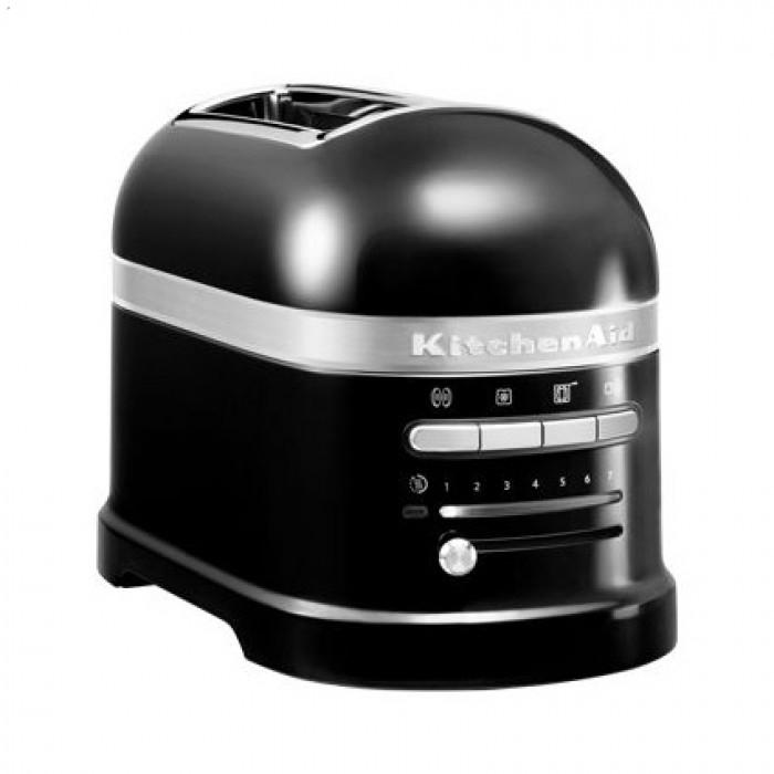 Тостер KitchenAid ARTISAN на 2 хлебца, черный (5KMT2204EOB)